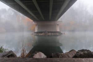 Annemarie Wansch - Unter der Traunbrücke