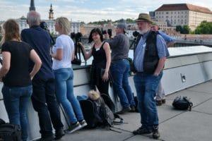"""Erste Übung: Personen auf dem Radweg """"entfernen"""" mit langer Belichtungszeit"""