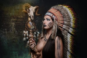 FB 03_Helmut Ming_Indian Woman 2