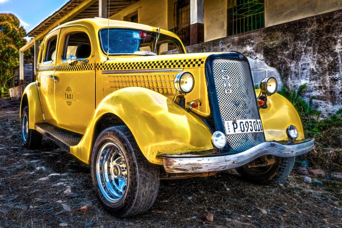 FKLeonding_Kurt Steindl_Cuba Taxi