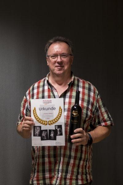 2. Platz Schwarz/weiß: Helmut Ming
