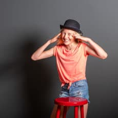 Im Studio- fotografiert von Felix