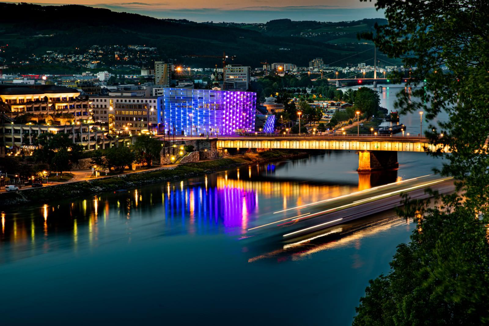 Thomas Truhlar - Linz bei Nacht