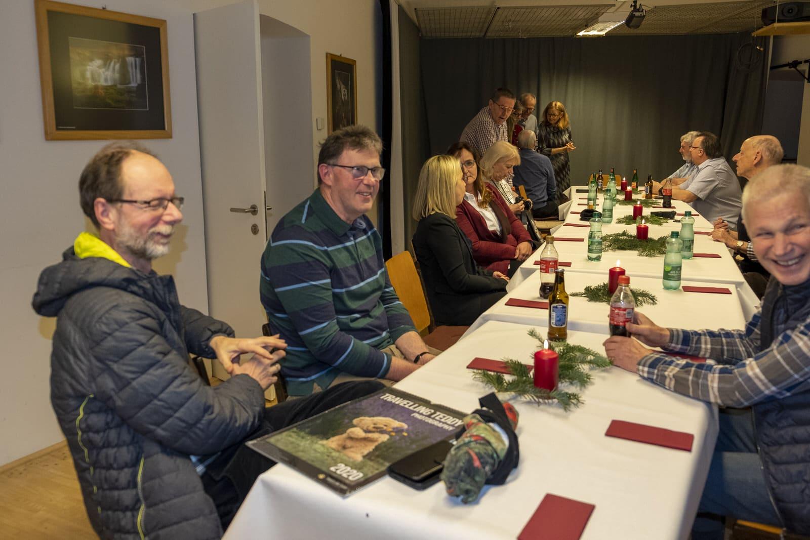 Mr. Travelling Teddy: Christian Kneidinger (links) & neues (altes) Mitglied Johann Niklosch